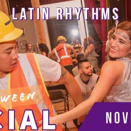 Latin Rhythms Halloween Social