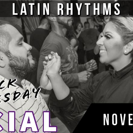 Latin Rhythms Annual Black Wednesday Social