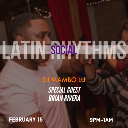 Latin Rhythms Pre-CISC Social
